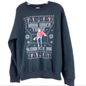 DRAKE ugly Christmas sweater